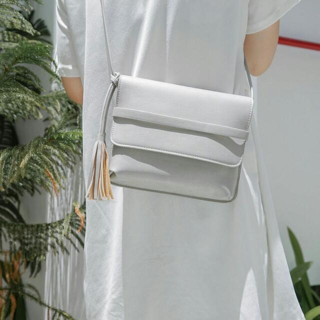 Tassel Bag Grey