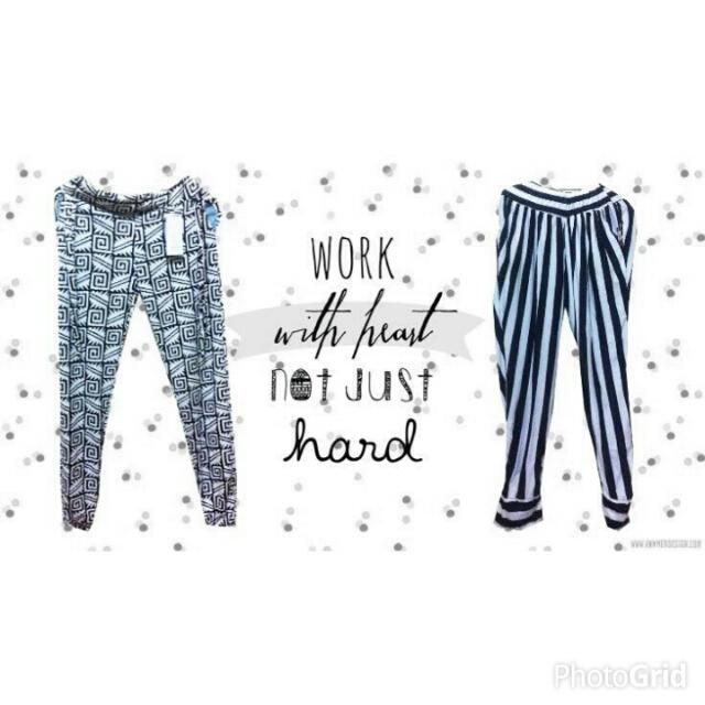 Tribal Pants & Stripped Pants