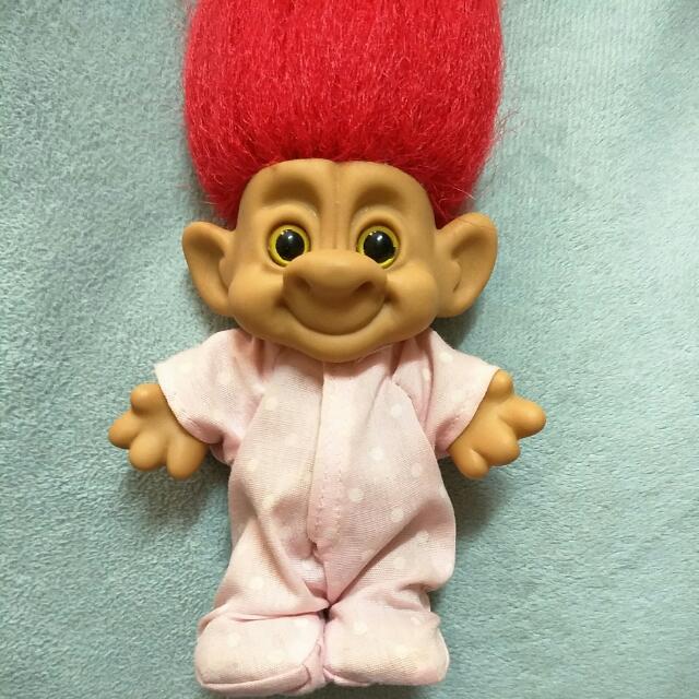 troll dolls 巨魔娃娃 幸運小子 魔法精靈