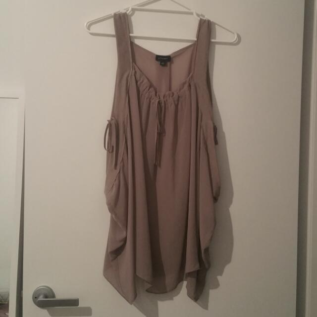 Witchery Sheer Singlet Blouse