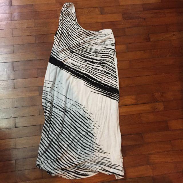 XS Island Shop Dress Cotton Toga Style