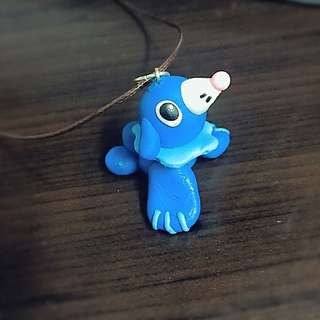Pokemon Pupplio Charm Necklace