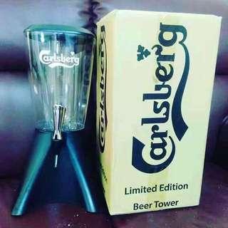 Carlsberg beer tower for sale