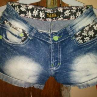 Jeans Pendek Size 27