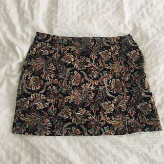Zara Embroidery Skirt