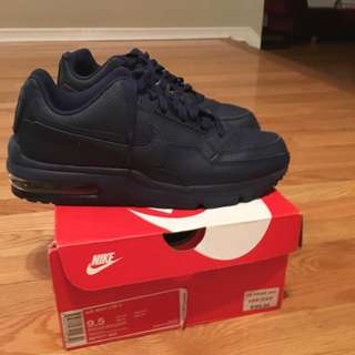 Nike Air Max LTD Navy Blue Size 9.5 US With Box