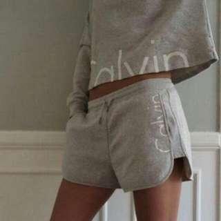 Cropped Hoodie + Matching Shorts