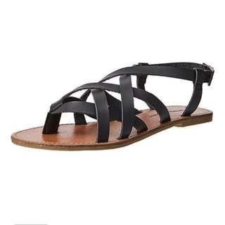 Black & Brown Sandals