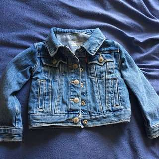 Levi Denim Jacket Size 2