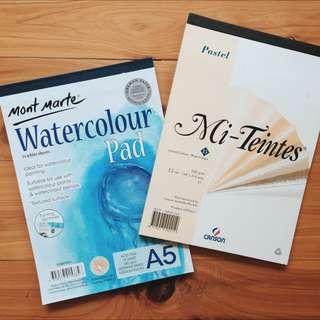 Watercolour & Pastel Pads