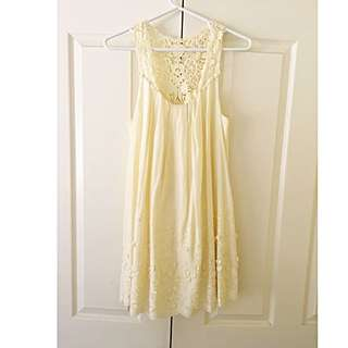 Forever New Pale Yellow Sundress