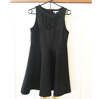 SES Black Dress