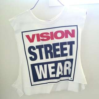 Vision Street Wear Muscle Tank Top Aus Size 12