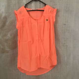 Preloved Surfer Girl Top