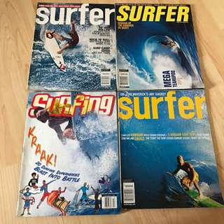 Giving Away Surfing Magazines (Free)