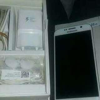 Samsung Galaxy S6 Flat White 64GB Mulus Fullset