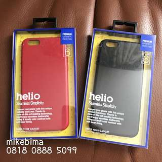 Helio Premium Leatherette Protection Case iPhone 6