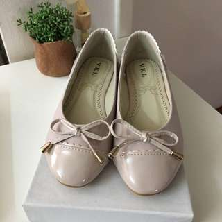 Dusty Rose Ballet Flats