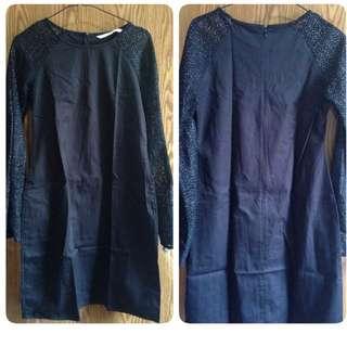 The Shopistix Black Dress