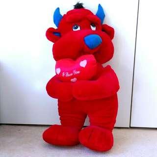 67cm Large I Love You Devil Toy/Plushie