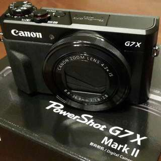 Brand New Canon G7X Mark II