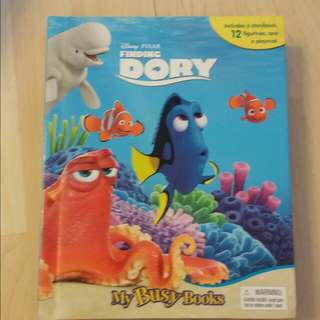 Baby Book With Toys