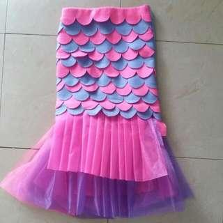 Homemade Mermaid Tail Skirt
