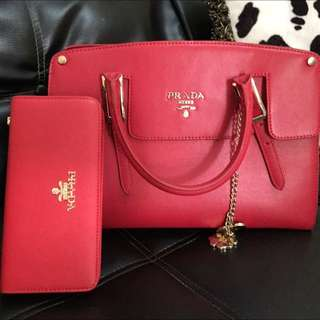 Prada Bag & Wallet