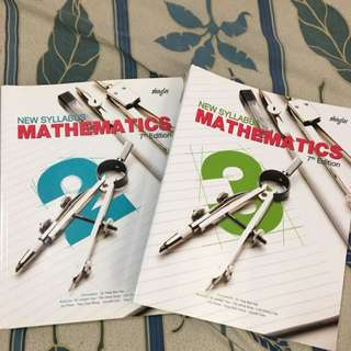SHINGLEE Math Textbooks Sec 2 & 3