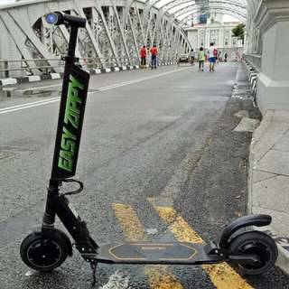 Learn To Ride Electric Kick Scooter With EASY ZIPPY