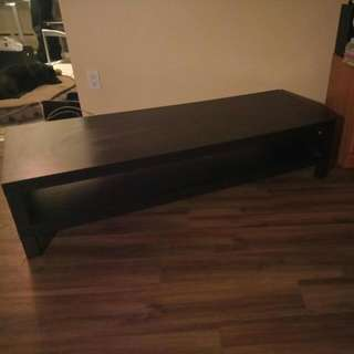 "Tv Stand... Fit A 58"" Comfortably"