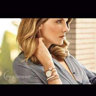 🚚 AK施華洛世奇水晶腕錶手環套裝