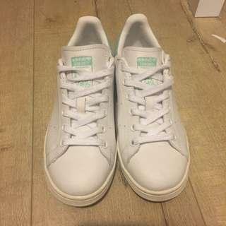 Adidas Green Stan Smith White/Green Size Women 7
