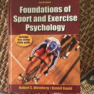 Foundations Of Sports And Exercise Psycology