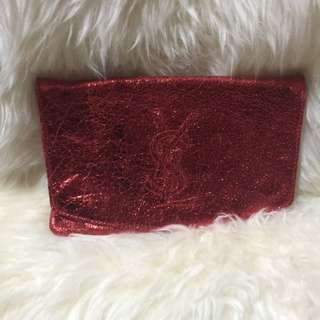 """YSL clutch """" lady in red""""💄💄💋not ori"""