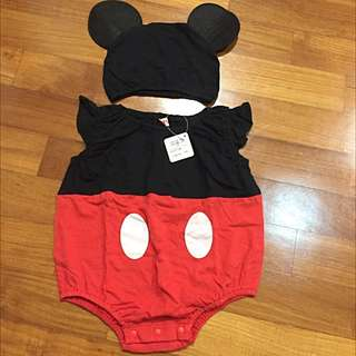 Mickey Mouse Outfit For Baby