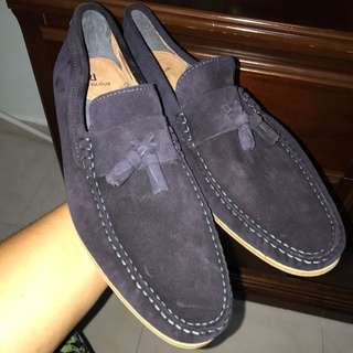 BN River Island Men Loafers Navy