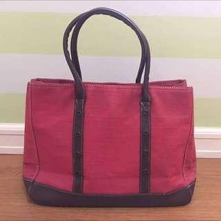 Preloved Red Bag From Japan