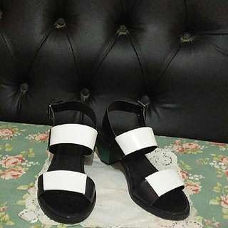 mango heels combination colour size 37