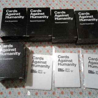 EXPANSIONs Only - Cards Against Humanity