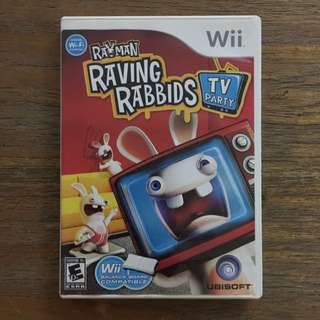 Wii - Raving Rabbits (TV Party )