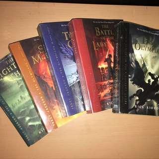 Pre-loved Percy Jackson Book 1-5