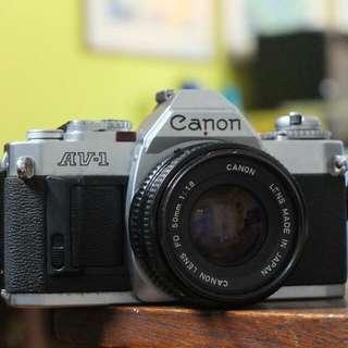 Canon AV1 Film Camera
