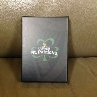 GUINNESS ST PATRICK'S NAMECARD HOLDER