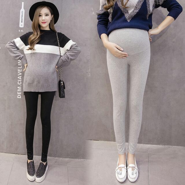 孕婦加絨托腹打底褲(5色) 🌟預購款