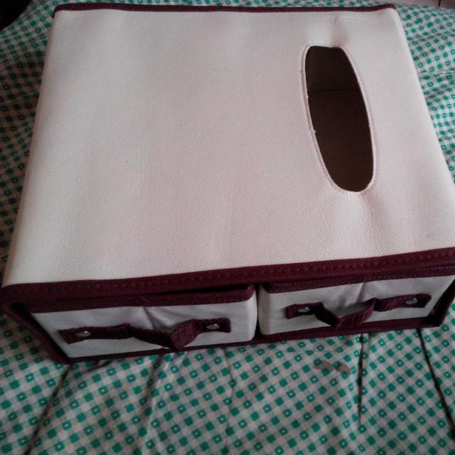 【全新】衛生紙折疊收納盒