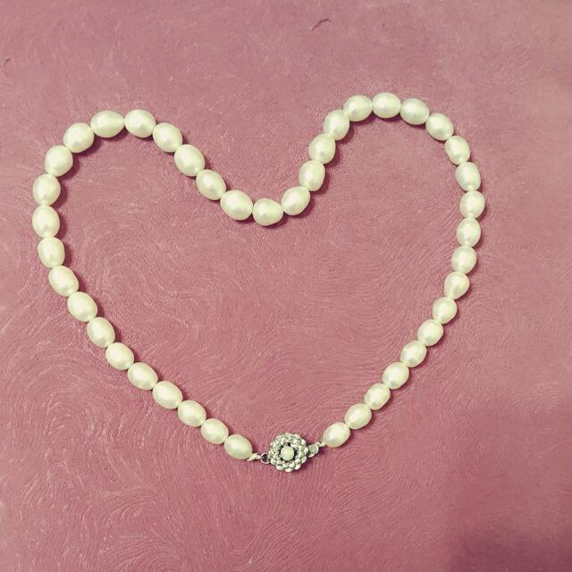 【全新】 珍珠項鍊白珍珠項鍊,高貴典雅。