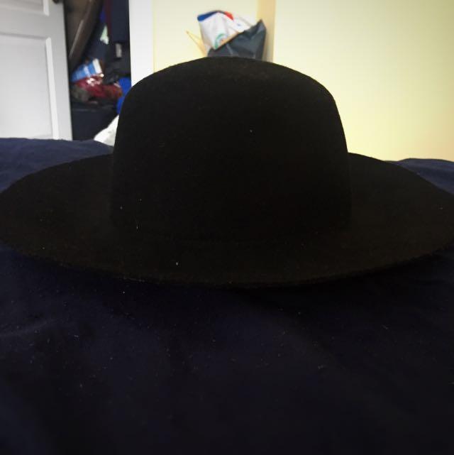 BRAND NEW ALDO Black Fedora