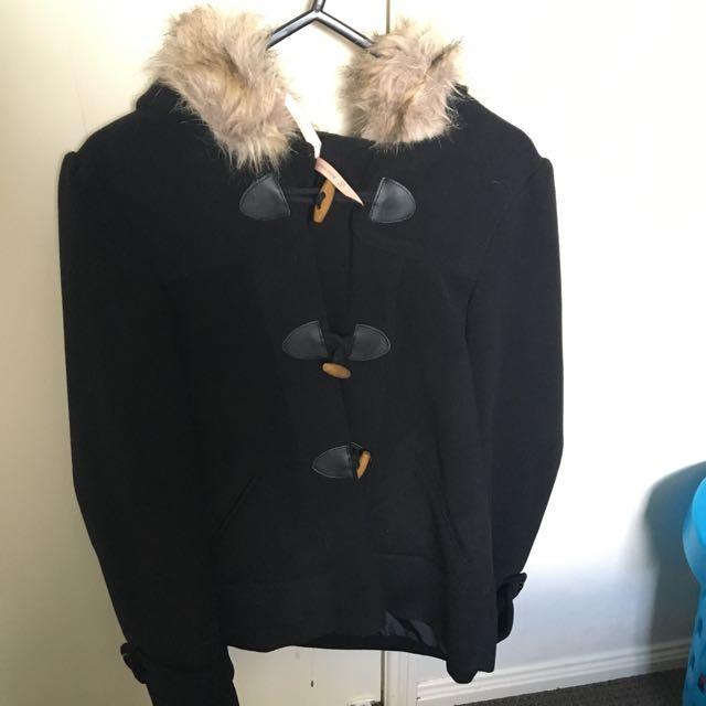 Ally Fluffy Coat
