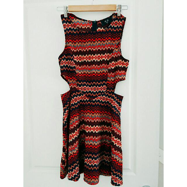 Armani Exchange Cut Out Side Playsuit